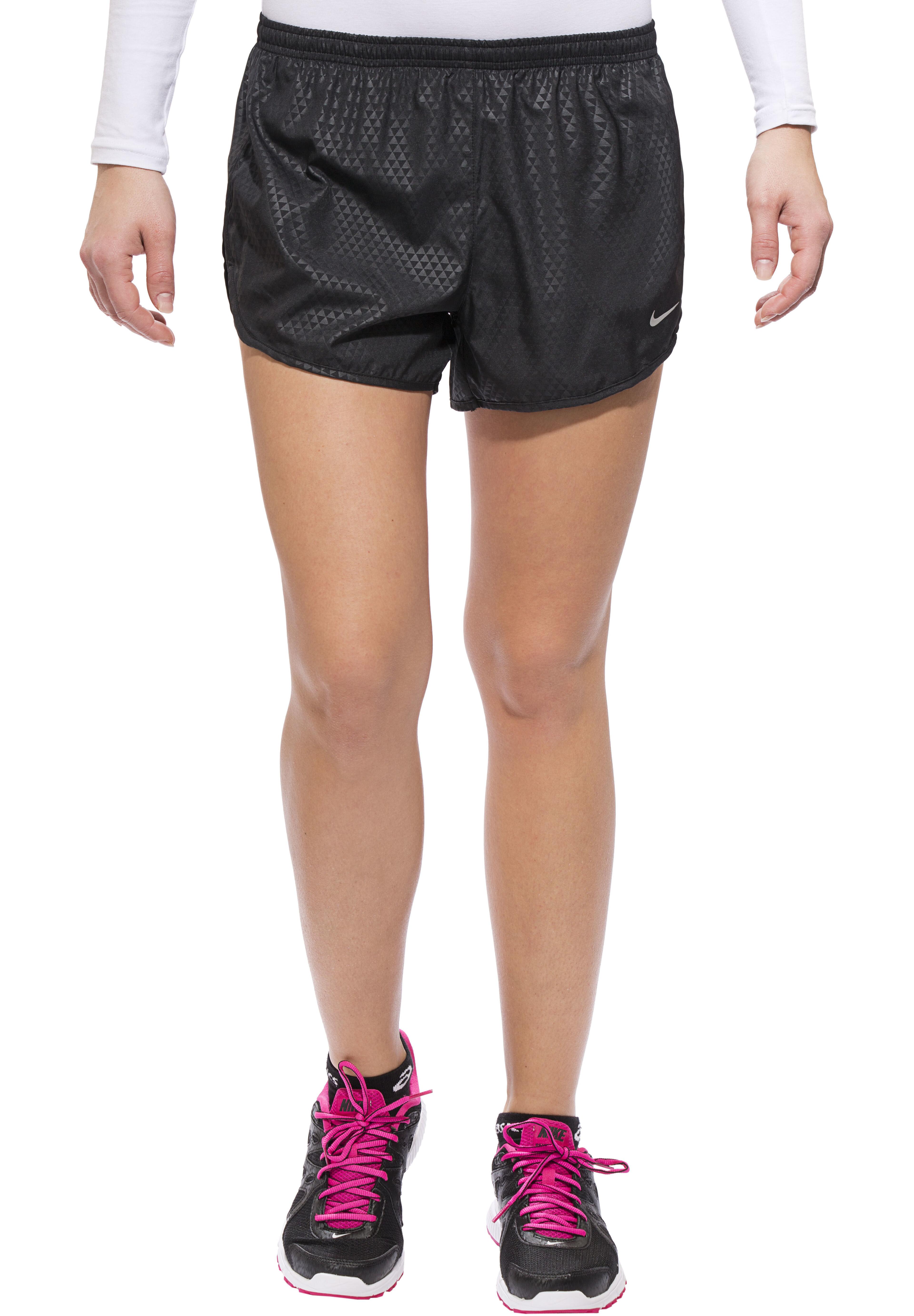 dd0e979a2b3 Nike Modern Tempo Embossed Hardloop Shorts Dames zwart l Online ...